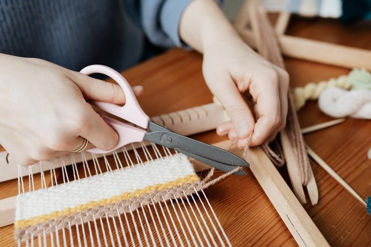 Вязание на деревянной основе