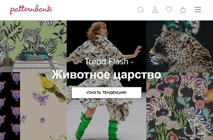 Скриншот сайта Patternbank.com