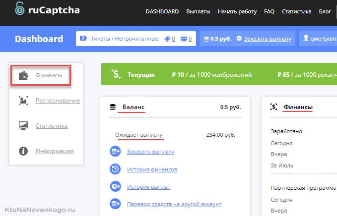 Сколько заработали в Ру-Капче с сайта ktonanovenkogo.ru