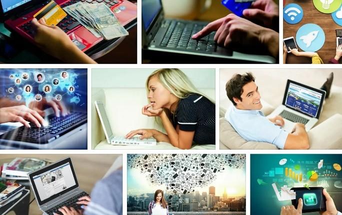Топ изображений с людьми за компьютером