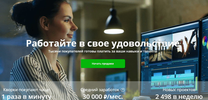 Сайт kwork.ru