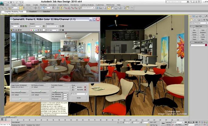 Программа 3ds Max Design