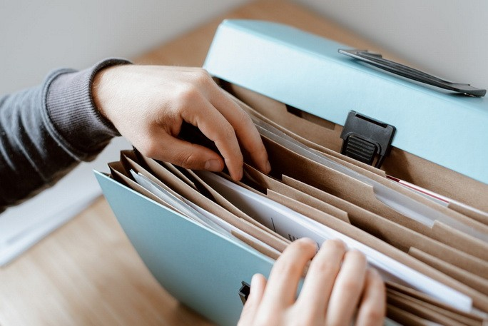 Документы в портфеле