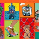 Образцы мини-портфолио художников иллюстраторов