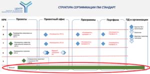 Структура сертификации ПМ стандарт