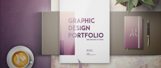 Портфолио графического дизайнера