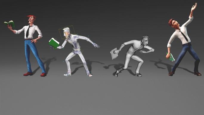 Персонажи анимации