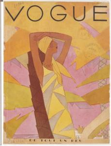 Обложка журнала Vogue 1929