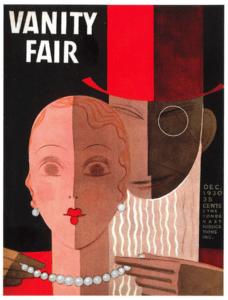 Обложка журнала Vogue 1930