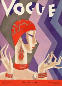 Обложка журнала Vogue 1926